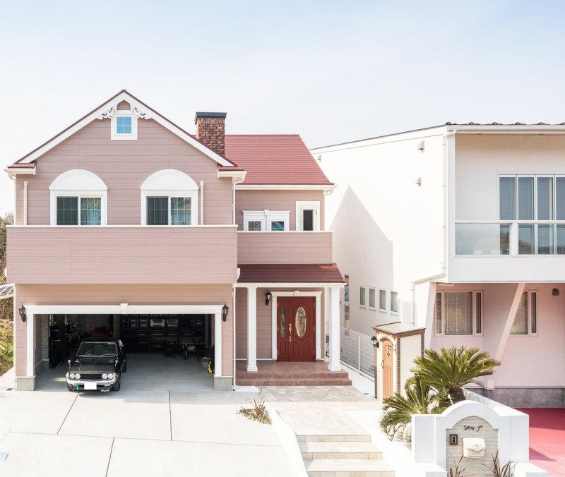 ロビンスジャパンのカリフォルニアスタイル施工事例