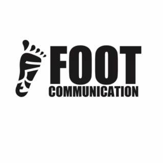 フットコミュニケーションのロゴマーク
