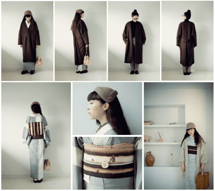 KIMONO by NADESHIKO 2020年AWコレクション