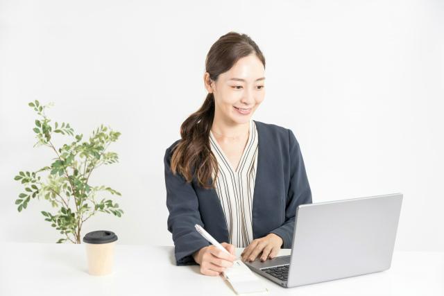 翻訳業の女性